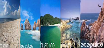 10 Playas Mexicanas mas visitadas