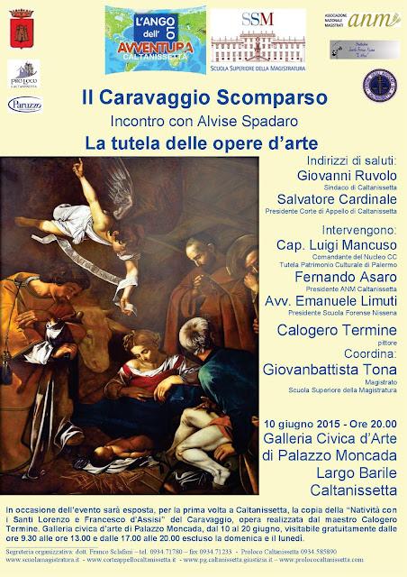 Il Caravaggio a Caltanisetta