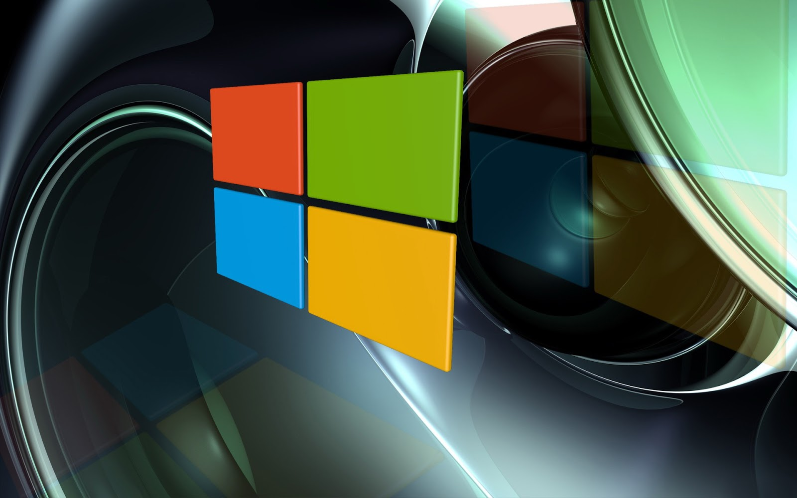 Desktop Hd Wallpapers 3d Windows Logos