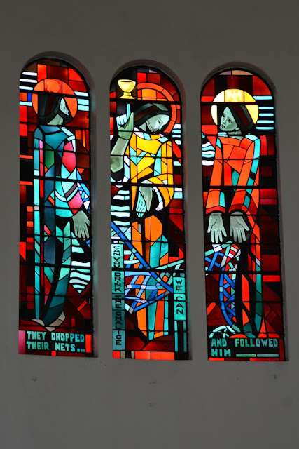 St. Johns cathedral KL stained glass