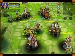 game online nhập vai 3D cho iphone