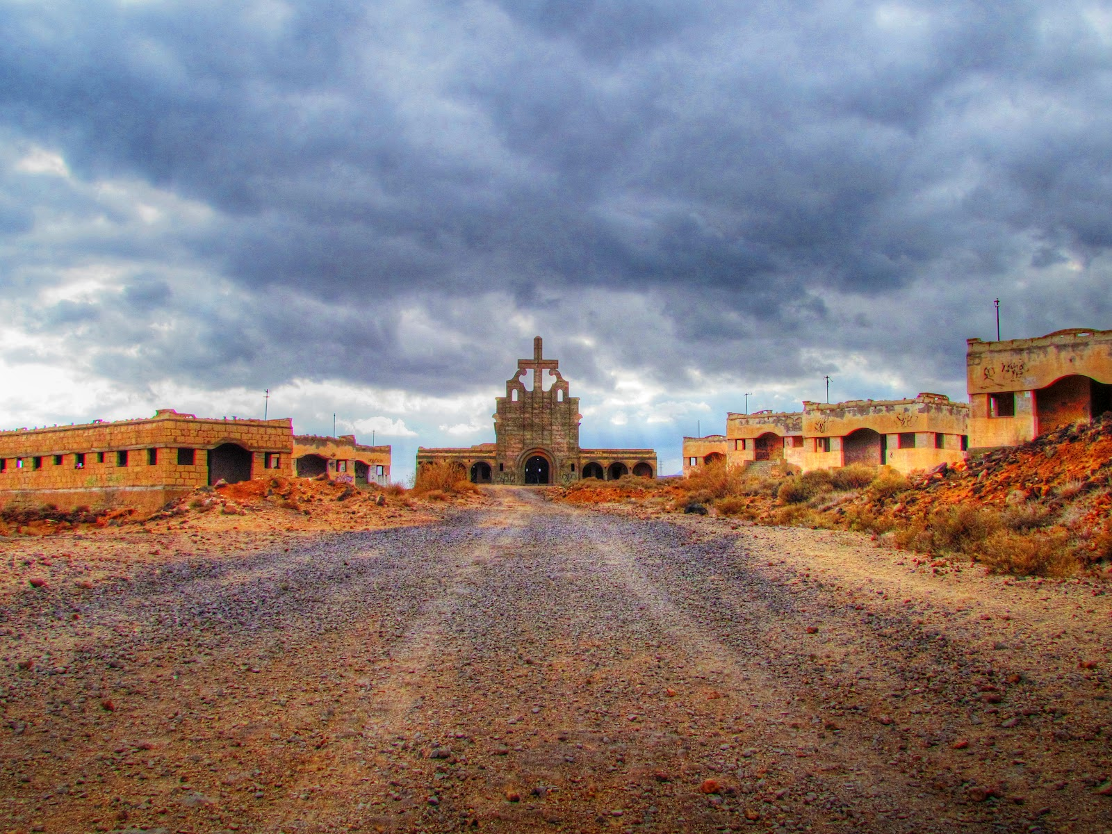 Urban Exploration Abandoned Leper Colony Ghost Town In