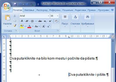 word - klikni i piši