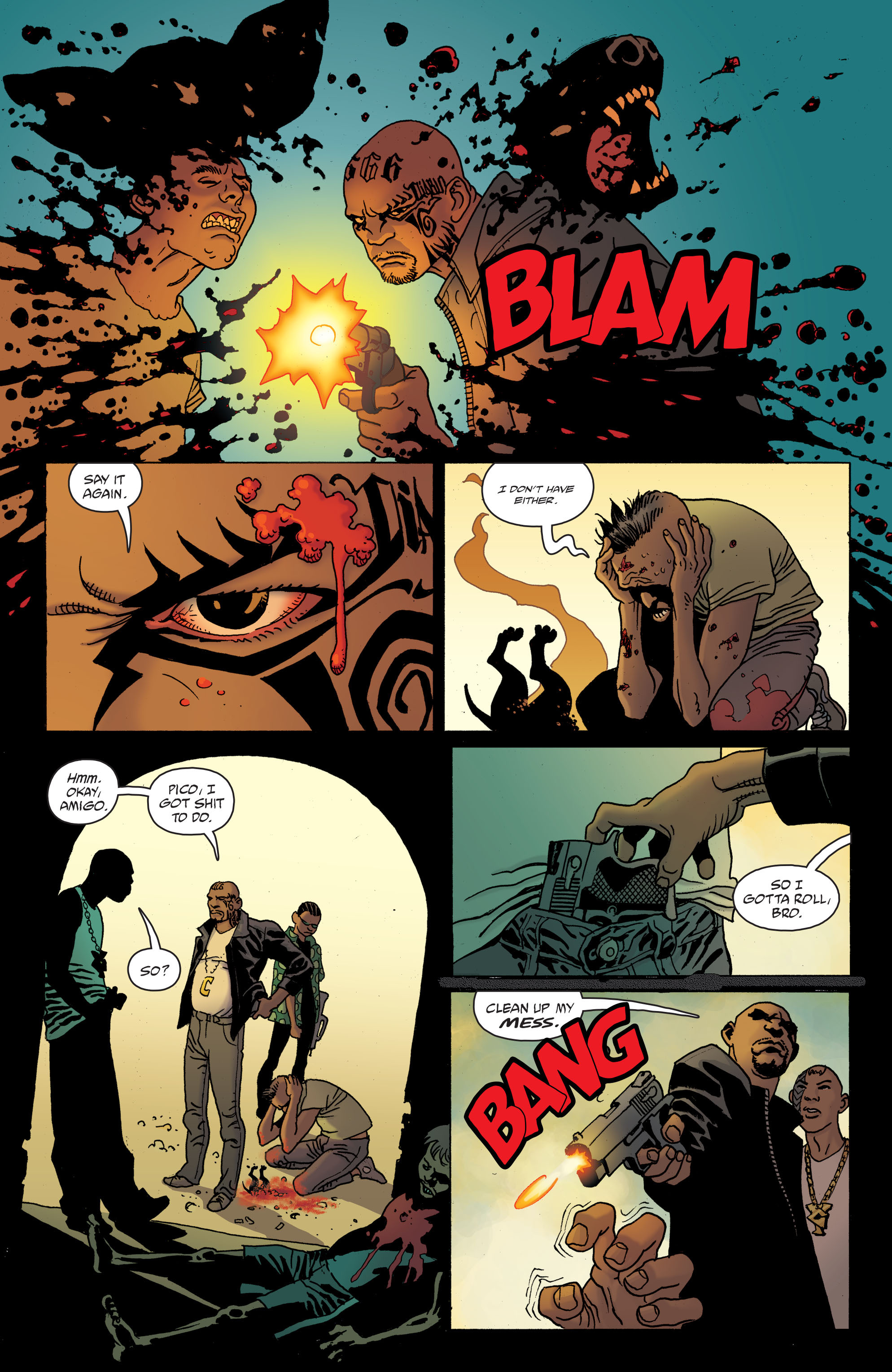 100 Bullets: Brother Lono Full Page 60