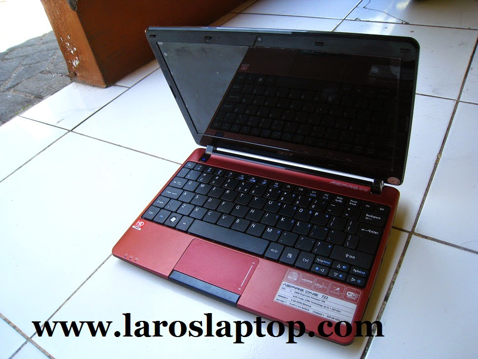 Harga Notebook second acer aspire One 722