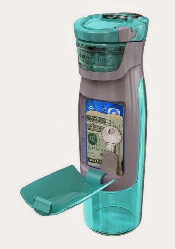Diseños ingeniosos que podrían hacerte la vida más fácil, botella de agua