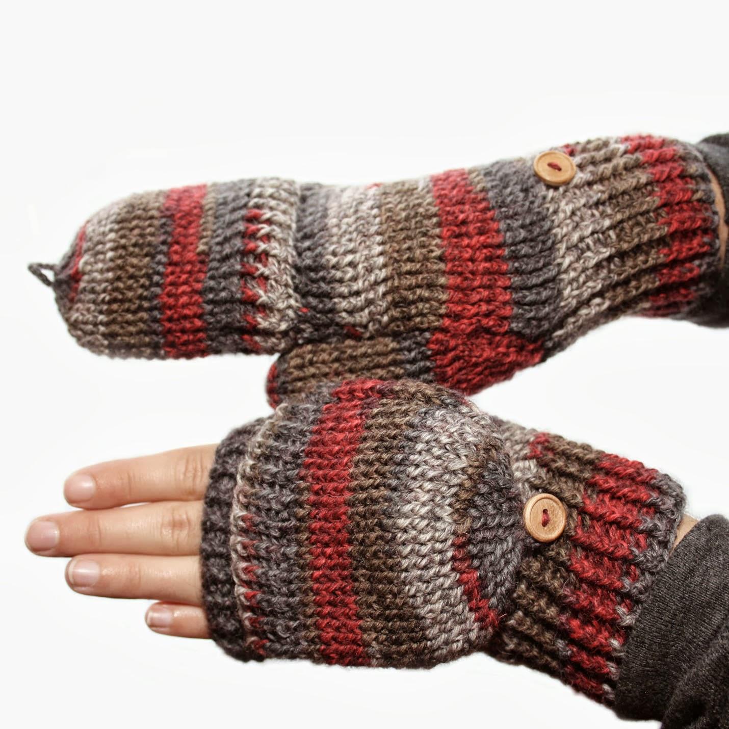 Crochet Patterns Mittens : ... design shop: new crochet pattern - peekaboo mittens by kim miller