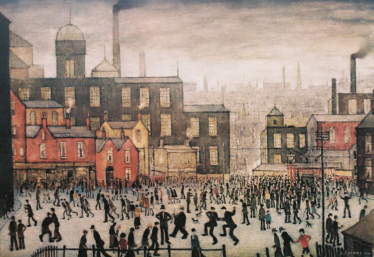 A Biography of Laurence Stephen Lowry, a British Painter