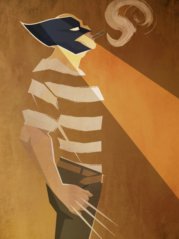 Peter McNierney. Illustrations. Marvel Superheroes. Dolce&Gabbana SS 2013