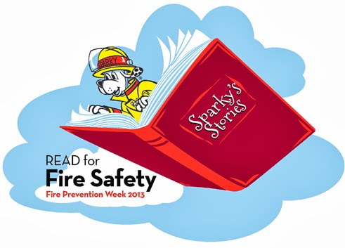 Fire Prevention Week Is Oct 6 12 2013 And NFPA Sparky The Dog Urge Departments Parents Teachers To Read For Safety