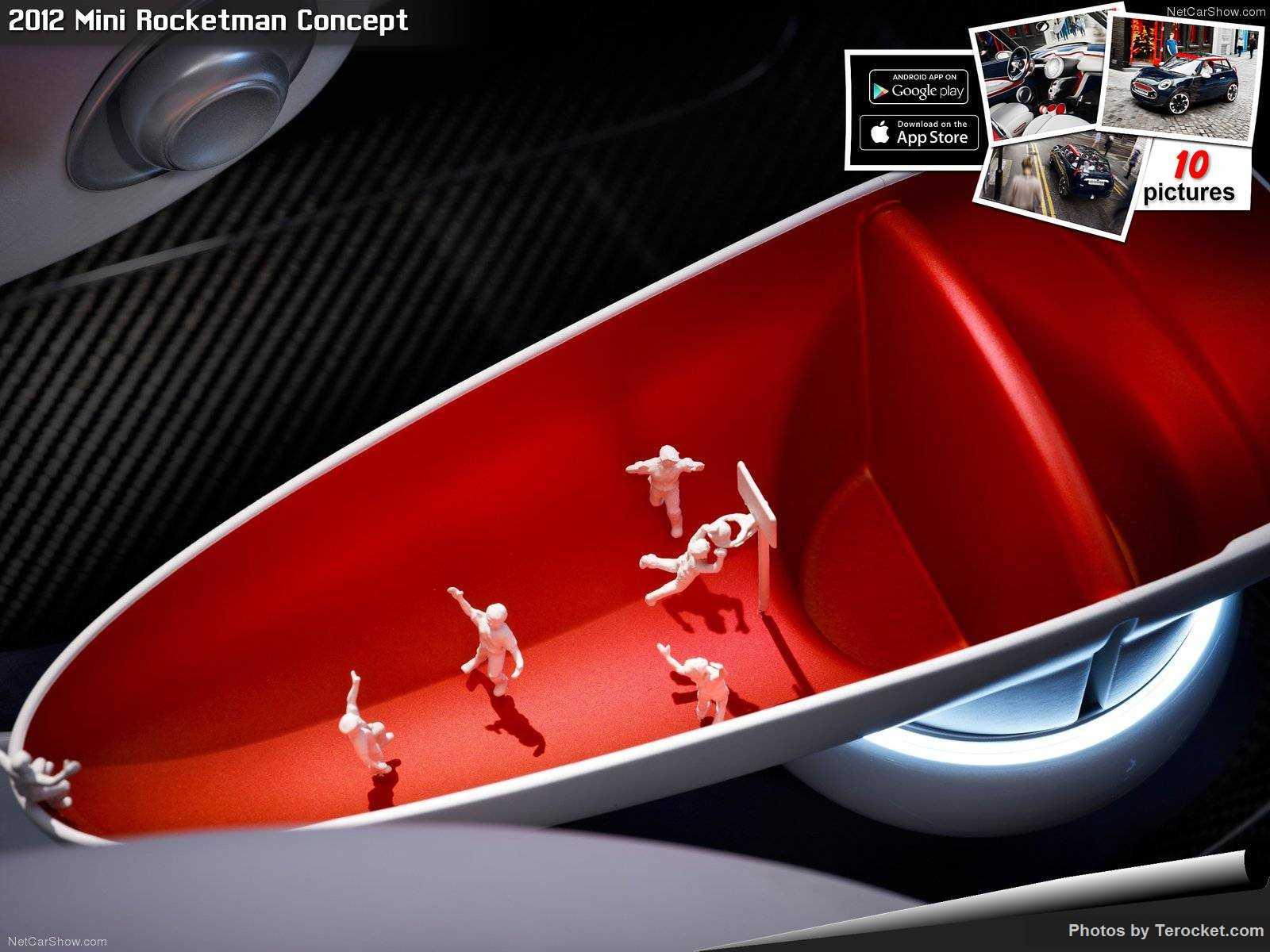 Hình ảnh xe ô tô Mini Rocketman Concept 2012 & nội ngoại thất