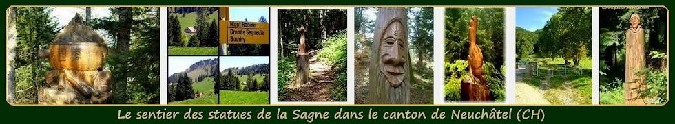 ➽  Le sentier des statues à La Sagne en Suisse par Blogmontagne ~