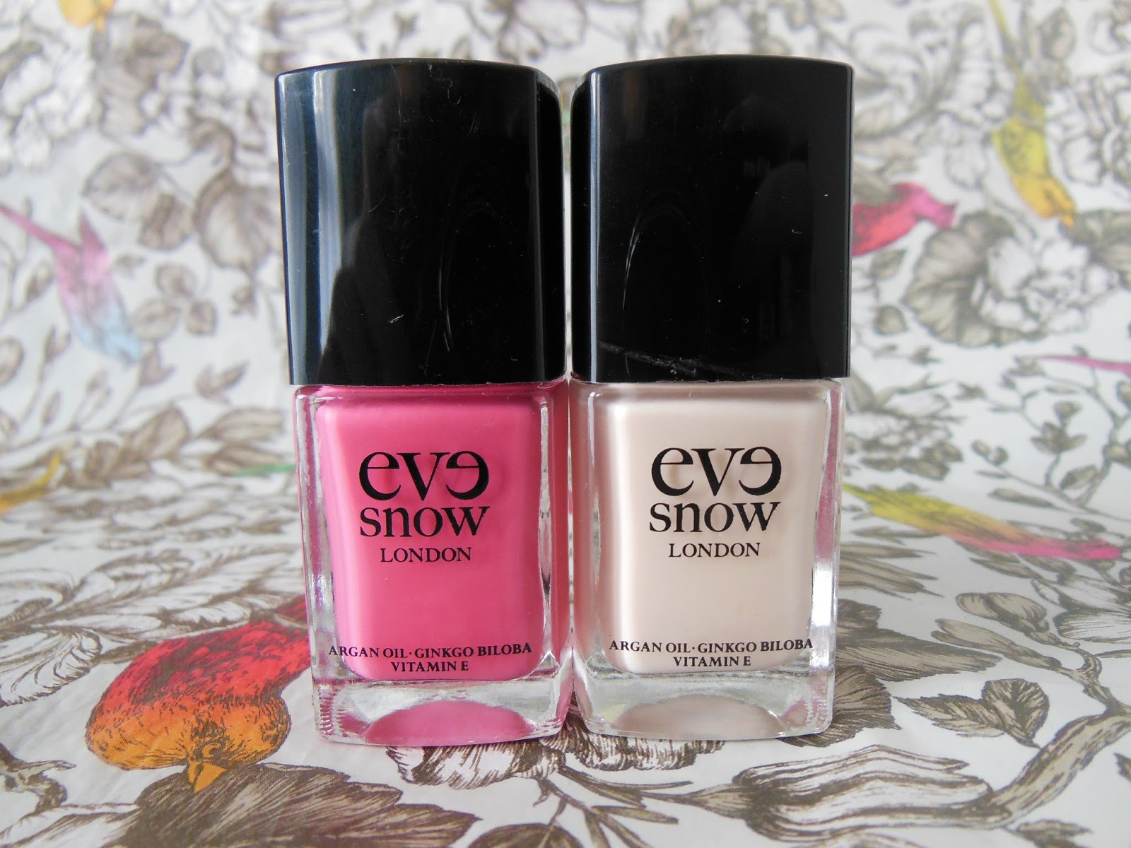Eve Snow nail polishes