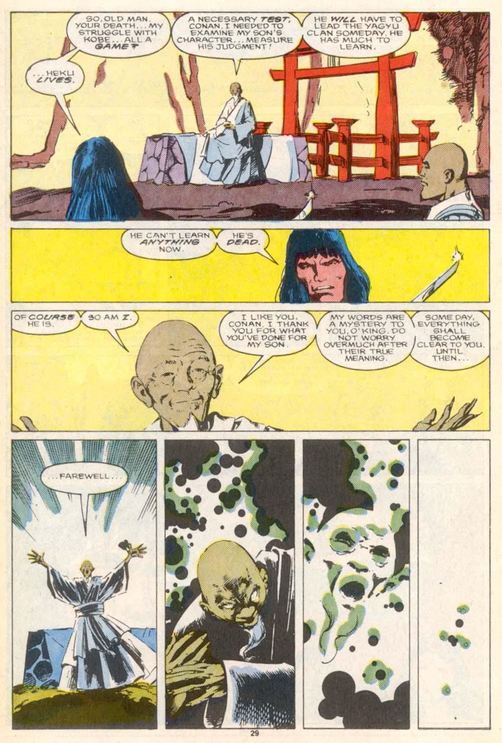 Conan the Barbarian (1970) Issue #208 #220 - English 22
