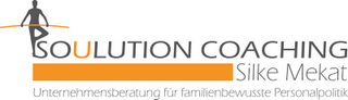 Soulution Coaching Silke Mekat Unternehmensberatung für familienbewusste Personalpolitik Vereinbarkeit von Beruf und Familie Logo