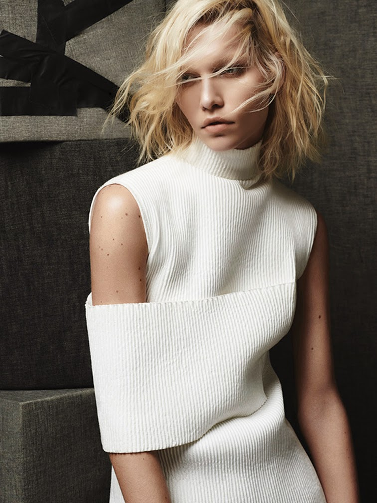 Aline Weber for DuJour magazine photographed by Rafael Stahelin, styled by Catherin Newell Hanson