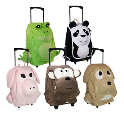 EcoZoo rolling backpacks