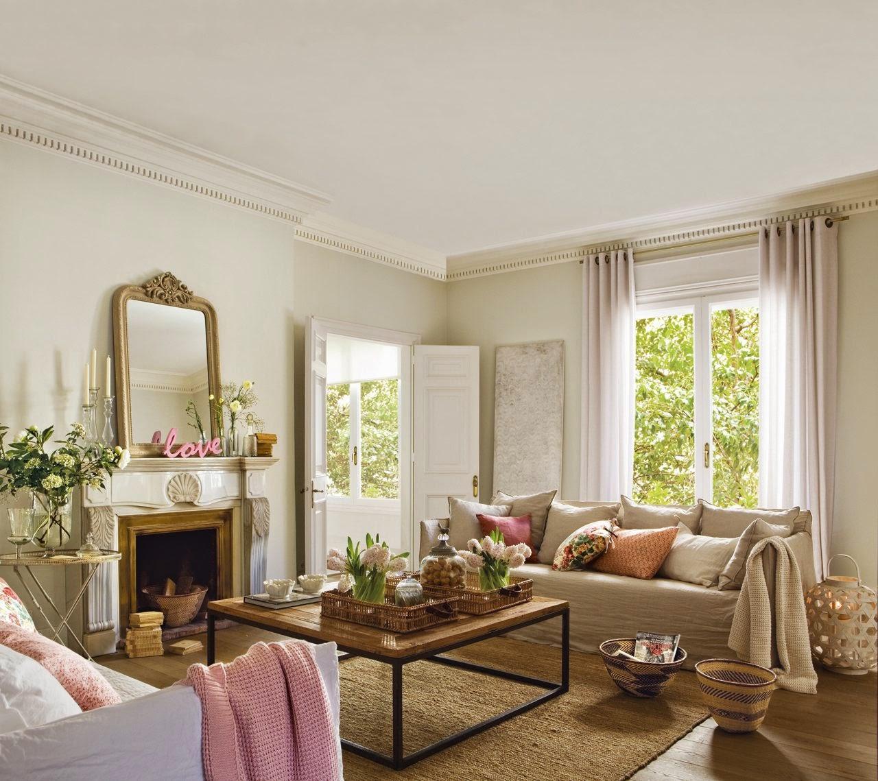 Lo shabby di mila una splendida casa con showroom for Una casa di tronchi con garage annesso