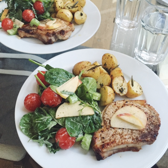Sweet Monday recipes, pork and apple