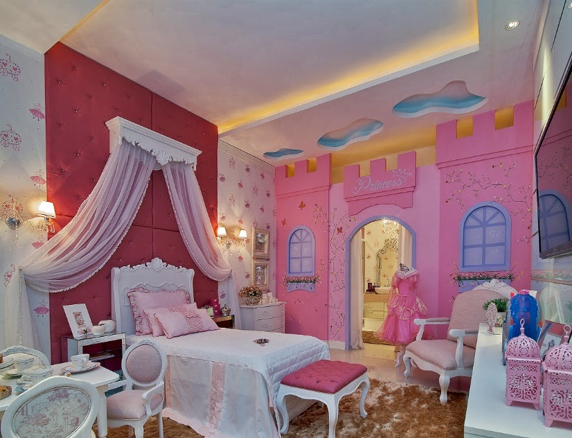 C mo decorar un dormitorio de princesa disney bedroom for Como decorar un dormitorio de bebe