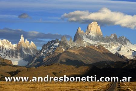 Monte Fitz Roy - Cerro Torre - El Chaltén - Parque Nacional los Glaciares - Los Glaciares National Park - Patagonia - Andrés Bonetti