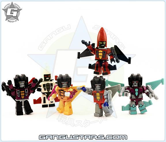 Decepticon Jets Skywarp Sunstorm Kre-O Transformers トランスフォーマー Kre O Kreons