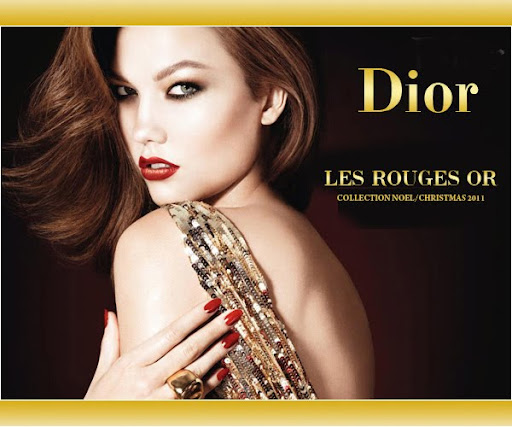 Златист Парти Грим Dior Les Rouges OR