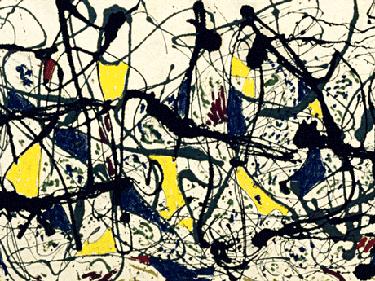 Hot stuff: Jackson Pollock