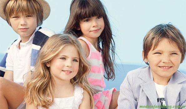 Pioppa moda primavera verano 2013. Ropa para niños.