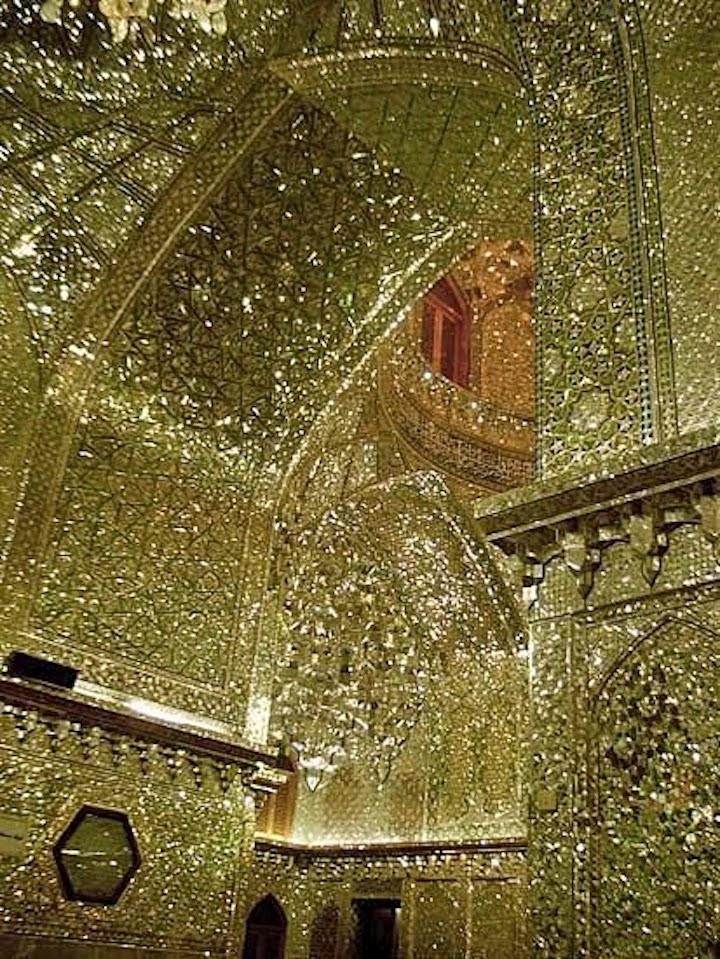 King of Light Mausoleum, Shiraz, Iran