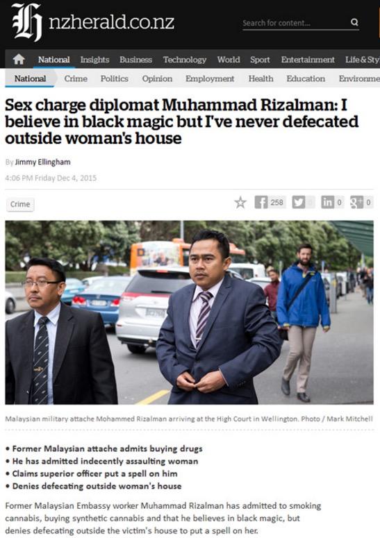 Di Malaysia, senyuman adalah isyarat untuk kita ikut kata Rizalman