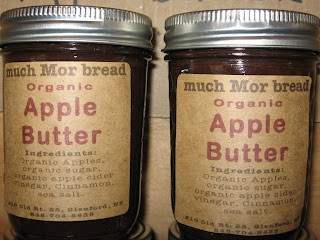 much Mor bread Apple Butter