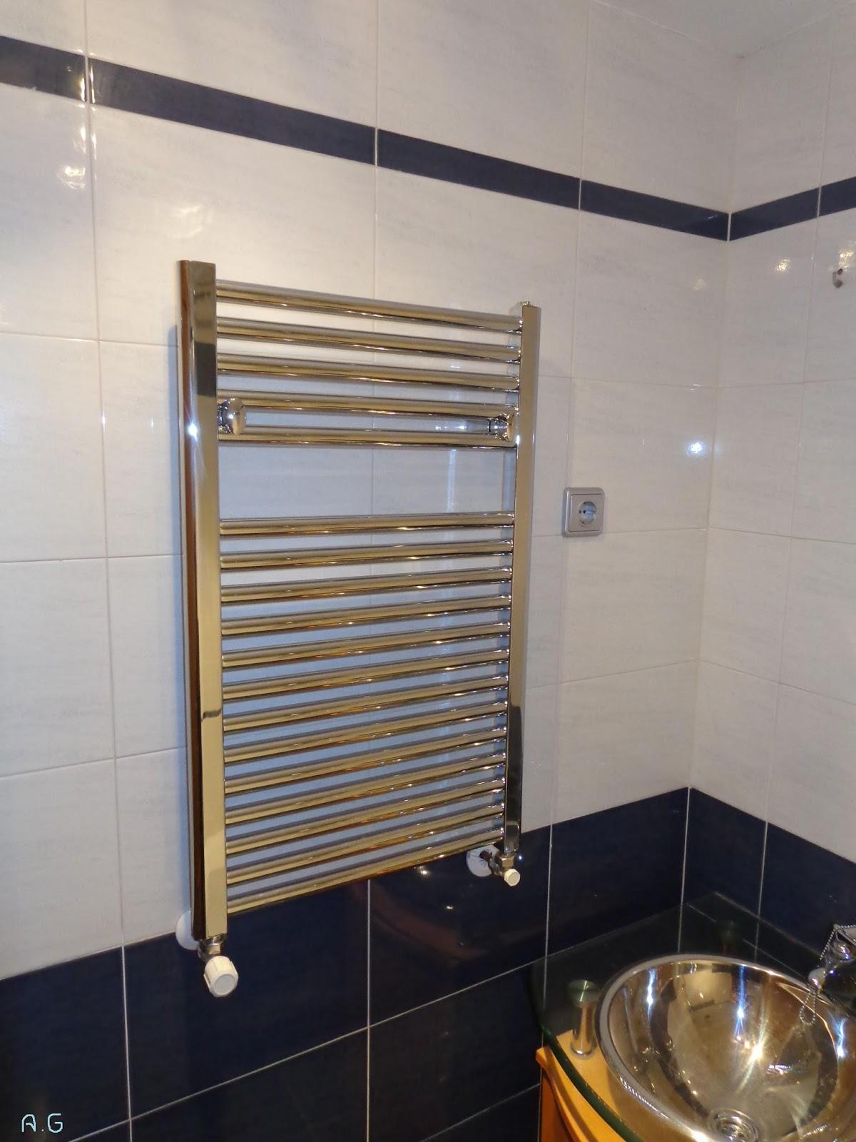 Baldosas sa instalar radiador toallero en el ba o - Purgar radiador toallero ...