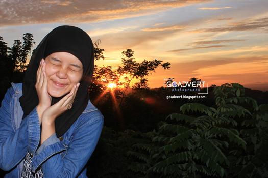 sunset bukit bintang yogyakarta gunung kidul