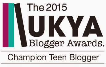 UKYA Champion Teen Blogger 2015