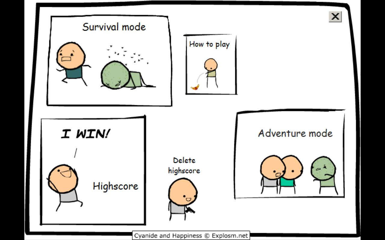 Painting Through Tears: Cyanide and Happiness