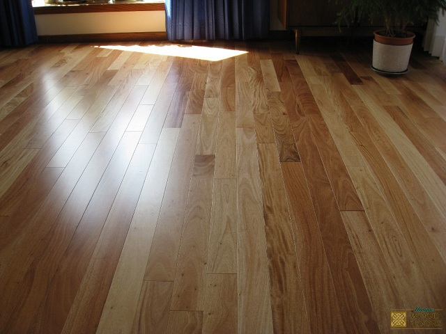 Unique wood floors stained wood flooring vs natural wood for Natural hardwood floors