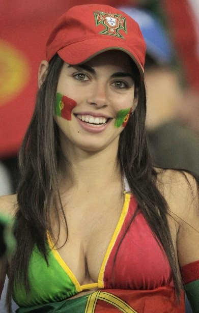 Most Attractive European Football Fans! 72bidadari.blogspot.com