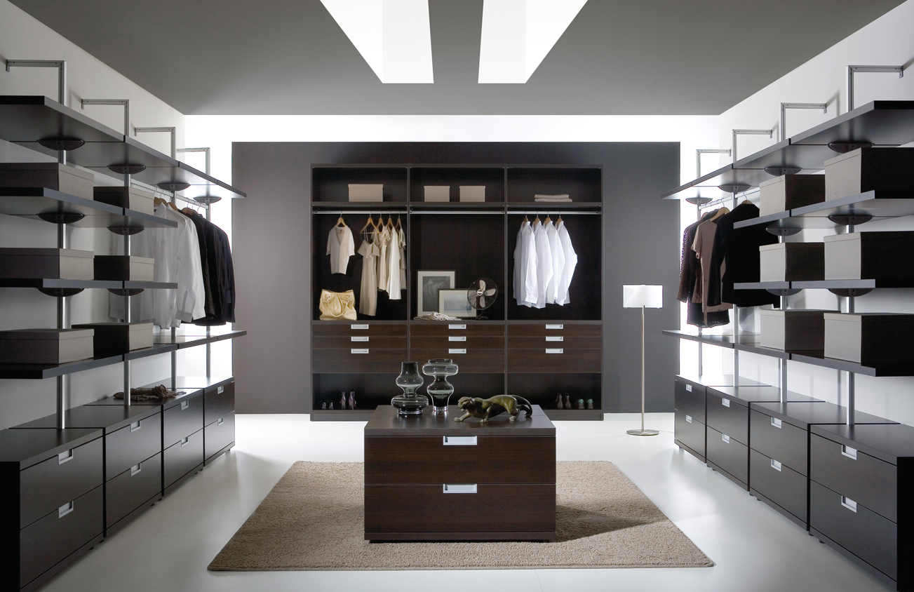 Unique and stylish closets to suit for Modern personalities