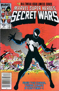 Marvel Super Heroes Secret Wars #8 cover