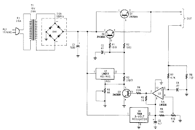 Super Universal Battery Charger Circuit Diagram