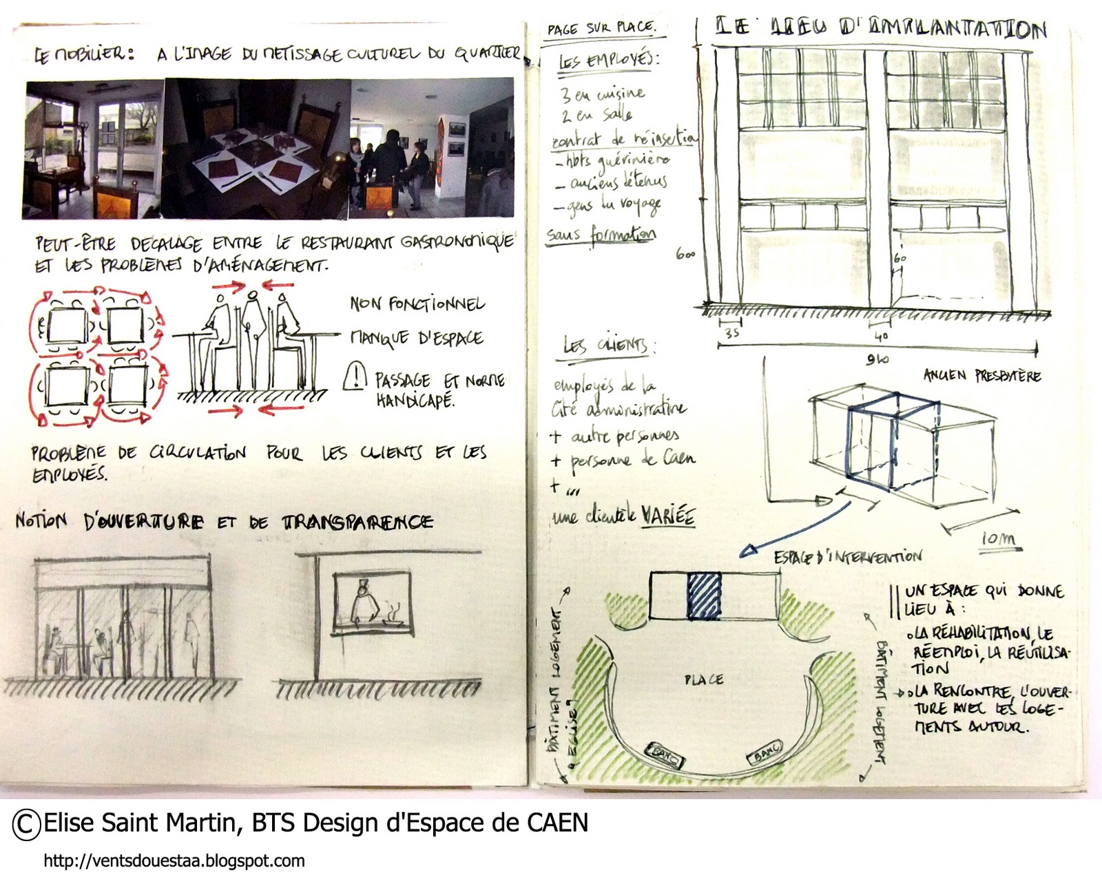 vents d 39 ouest le blog du bts design d 39 espace de caen bts de 2 un nouveau lieu pour un. Black Bedroom Furniture Sets. Home Design Ideas
