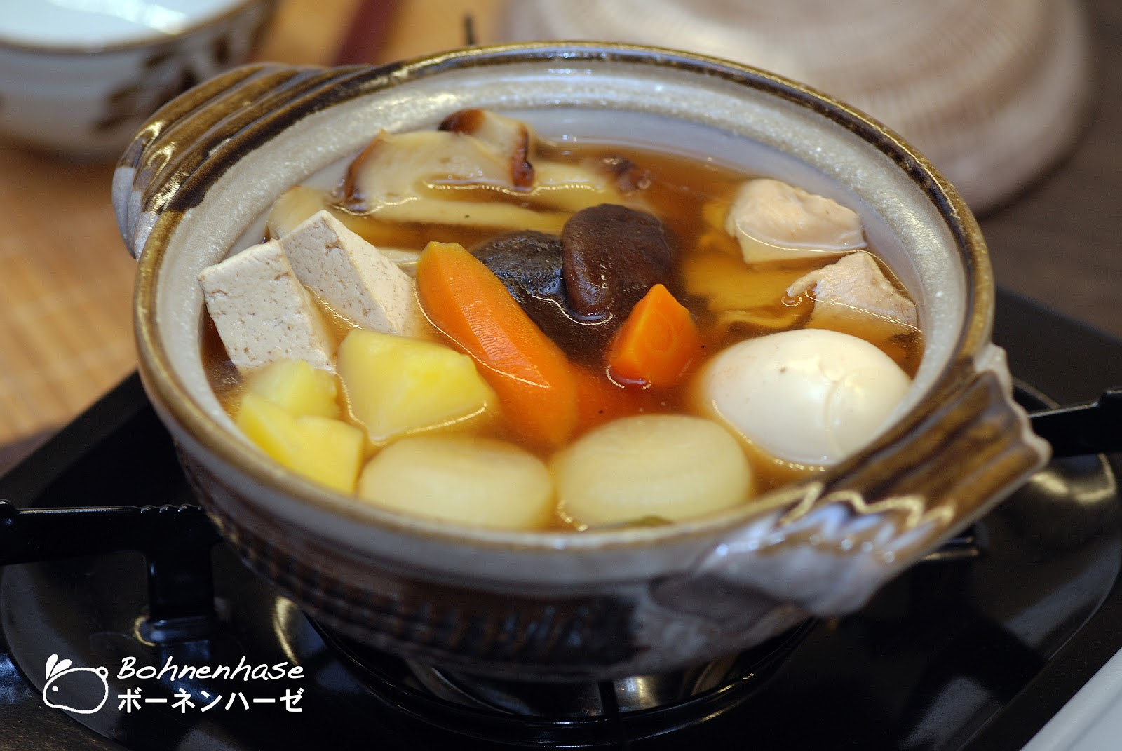 this weekend i cooked for us oden oden belonged to the nabemono dishes ...
