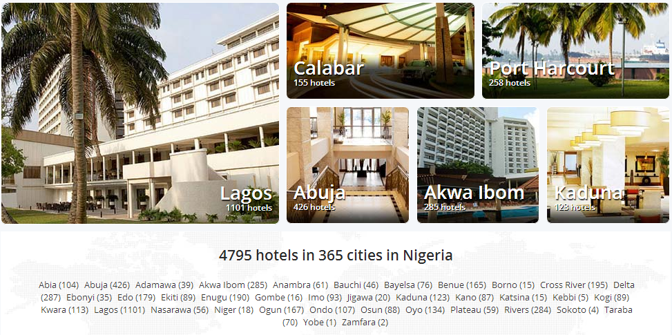 Hotels.ng beomces Africa's largest online hotel booking site