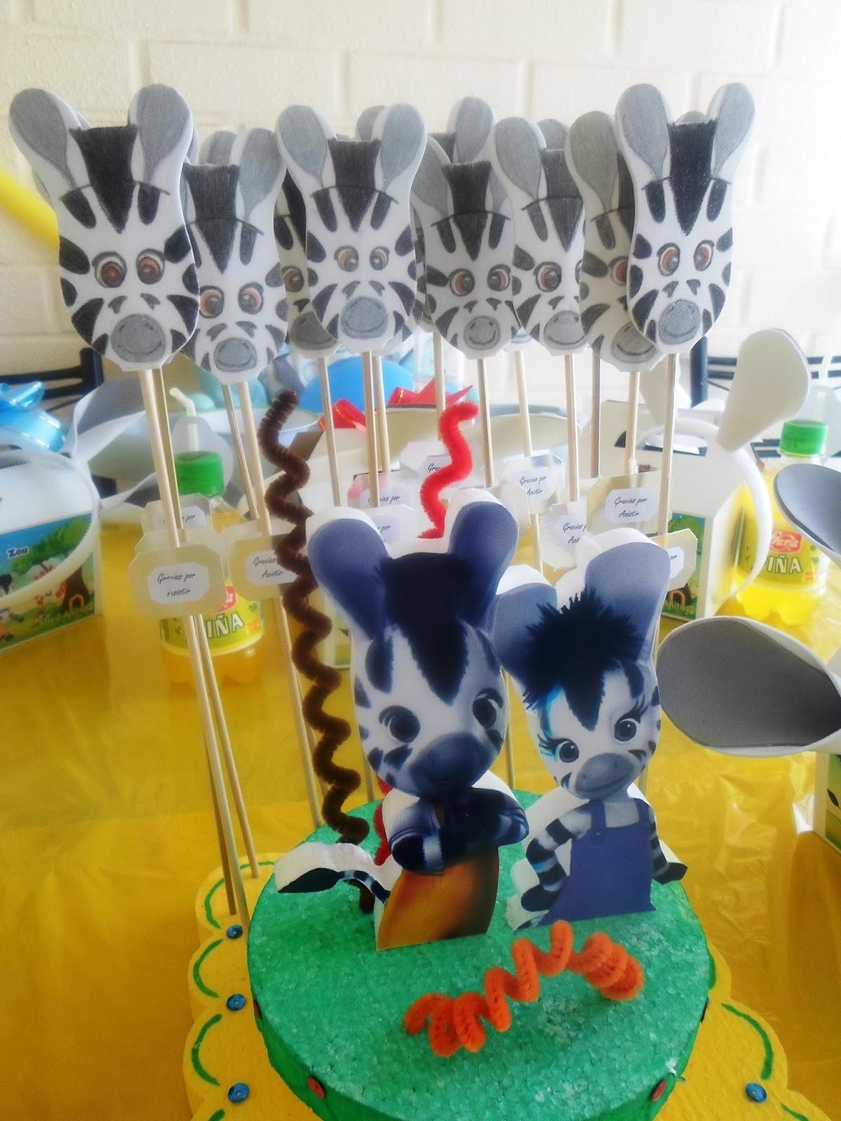 Zou Cumplea?os Decoracion ~ Eventos para tu Beb? ZOU; Chupeteras, C?pulas y centros de mesa