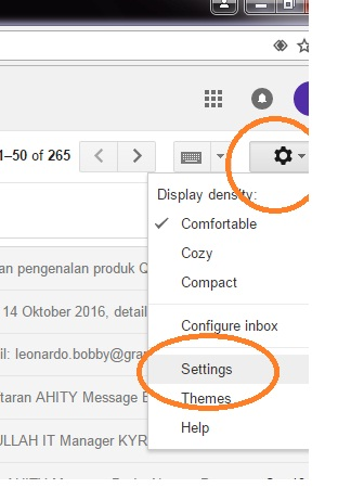how to stop gmail grouping emails