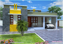 House Plan Of Small Modern Villa - Kerala Home Design