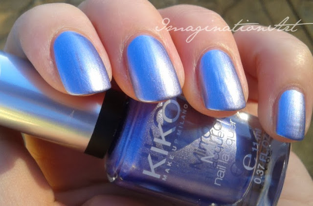 kiko mirror 622 lilla smalto swatch