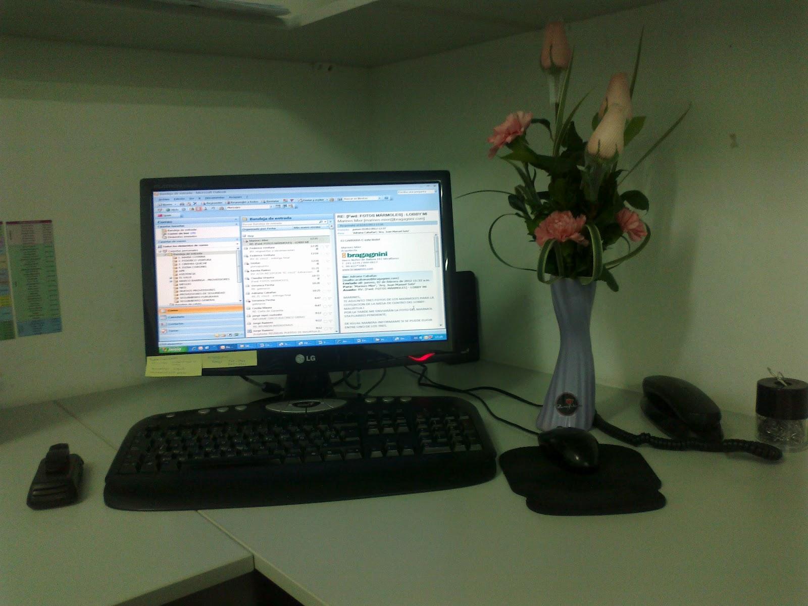 Adriana jos luis mi escritorio de trabajo - Escritorio de trabajo ...