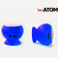 Buy mATOM Portable Wireless Speaker at Rs.499 : BuyToEarn